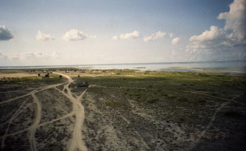 Вид на остров с маяка